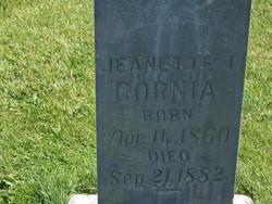 Jeanette I Cornia