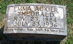 Emma <i>Auxier</i> Theobald