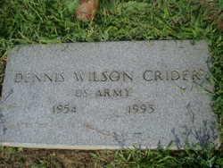 Dennis Wilson Crider