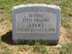 Effie Emaline Adams