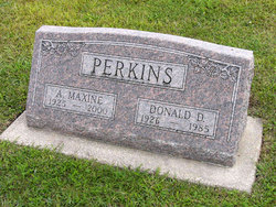 Amelia Maxine <i>Bliese</i> Perkins