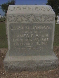 Eliza M. <i>Johnson</i> Blair