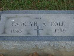 Carolyn A. Cole