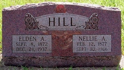 Nellie A <i>Burgess</i> Hill
