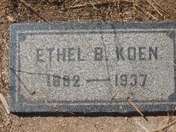 Ethel B. Koen