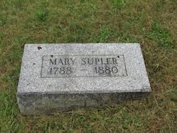 Mary <i>Sargeant</i> Supler