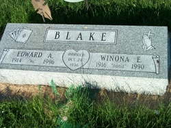 Winona E. <i>Burright</i> Blake