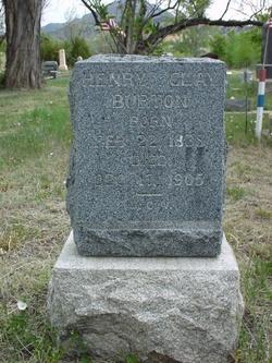 Pvt Henry Clay Burton