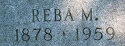 Reba May <i>Whitman</i> Colby