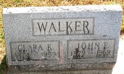 John F Walker