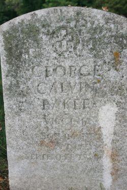 George Calvin Baker