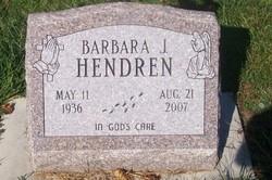 Barbara J. <i>Holmes</i> Hendren