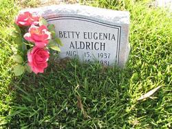 Betty Eugenia Aldrich