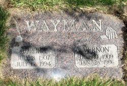 Aurora <i>Davis</i> Wayman