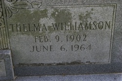 Thelma <i>Williamson</i> Cooley
