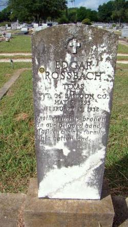Edgar Rossbach