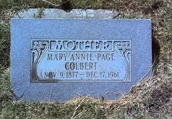 Mary Annie <i>Page</i> Colbert