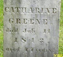 Catharine <i>White</i> Greene