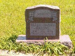 Bessie <i>Hanks</i> Malone