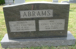 Cora Richerson <i>Vaughan</i> Abrams