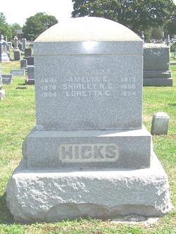 Amelia E Hicks