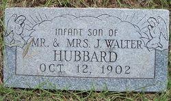 Infant Son Hubbard