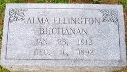 Alma <i>Ellington</i> Buchanan