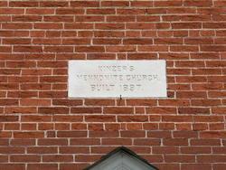 Kinzers Mennonite Cemetery