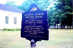 North Collins Quaker Meeting House Cemetery