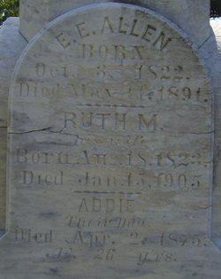 Addie S. <i>Allen</i> Wilson