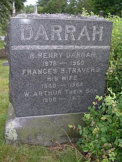 Frances B <i>Travers</i> Darrah