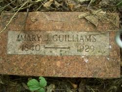 Mary Jane <i>Mann</i> Guilliams