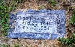 Olga H. <i>Tetzlaff</i> Kummetz