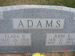 Clara Pearl <i>Bradley</i> Adams