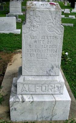 Ada <i>Sexton</i> Alford