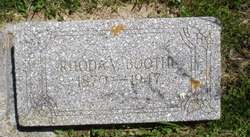 Rhoda Virginia <i>Simmons</i> Boothe