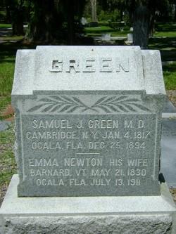 Emma <i>Newton</i> Green