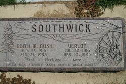 Edith Martha <i>Bush</i> Southwick