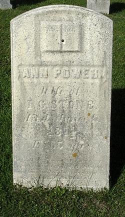 Ann <i>Power</i> Stone