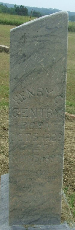 Capt Henry Clay Gentry