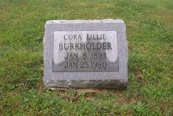 Cora Lillie Burkholder