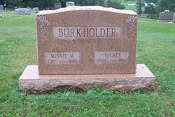 Minnie M Burkholder