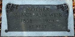 Nancy Ann <i>McKinney Kersh</i> Weir