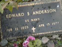 Edward S Anderson