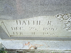 Hattie <i>Russell</i> Anderson