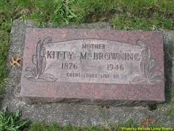 Katherine Marie Kittie <i>Vandeventer</i> Browning