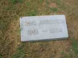 Essie Belle <i>Sanders</i> Anderson