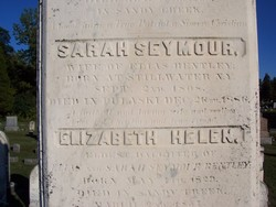 Sarah <i>Seymour</i> Bentley