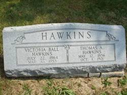 Victoria <i>Ball</i> Hawkins