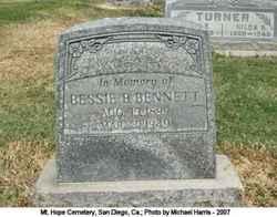 Bessie B Bennett